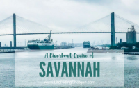 A Riverboat Cruise in Savannah