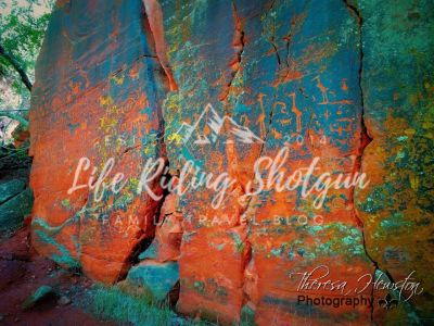 V-Bar V-Ranch Petroglyphs