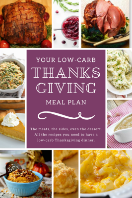 Your Low Carb Thanksgiving Meal Plan