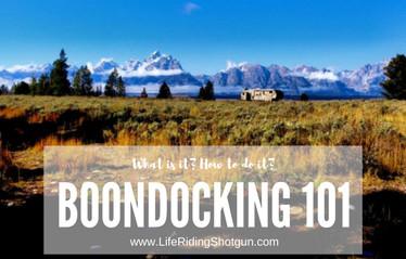 Boondocking 101: What is it? How do you do it?