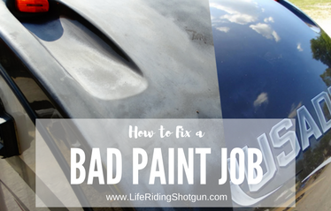 How to Fix a Bad RV Paint Job