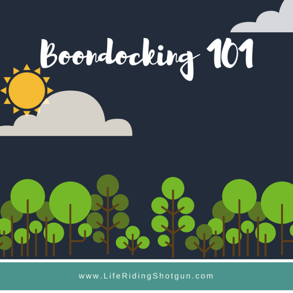 Boondocking 101