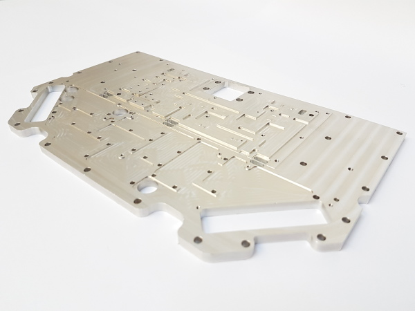 Precision Engineered Aluminium Satellite Part