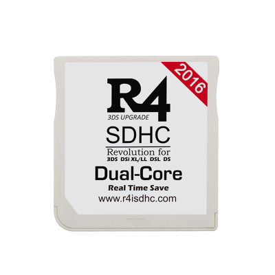 R4iSDHC DUAL CORE 2016