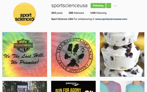 Sport Science   Instagram