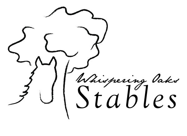 Whispering Oaks Stables logo