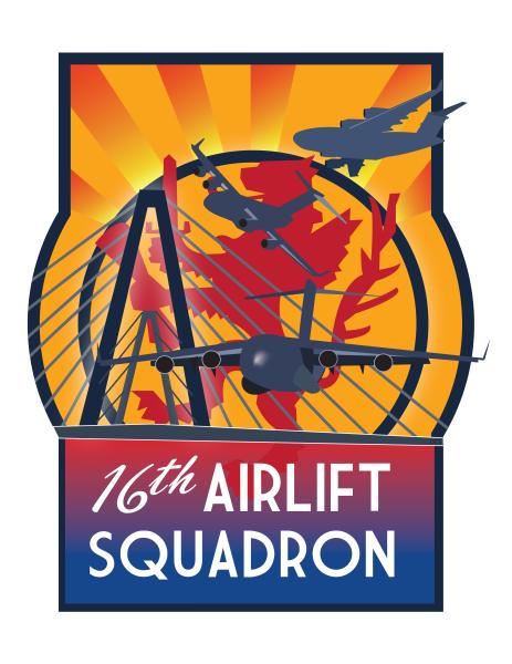 16th Airlift t-shirt design
