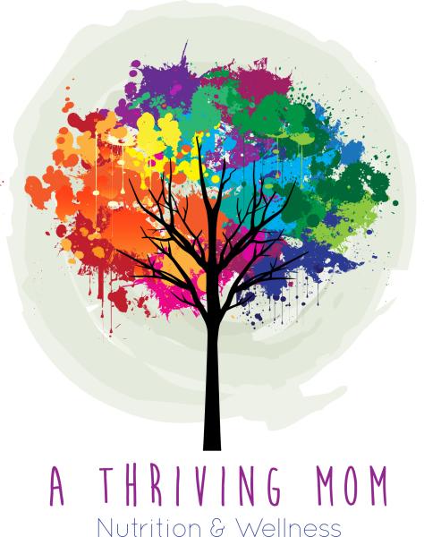 A thriving mom logo