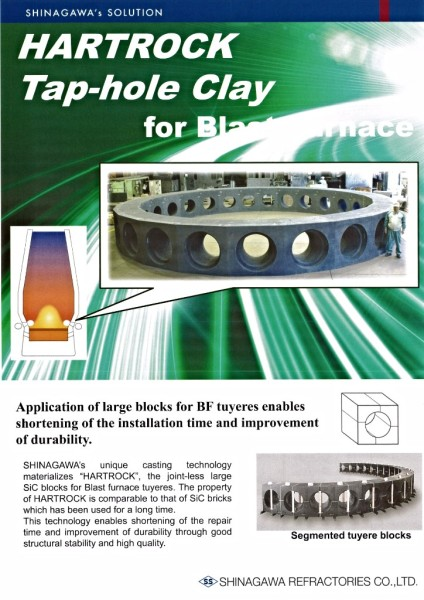 HRTROCK Tap-Hole Clay for Blast