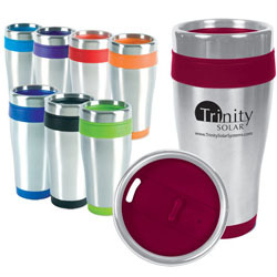 Stainless steel insulated mugs, tumblers from Texas Branders