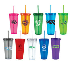 Plastic tumblers from TX Branders, Houston, TX