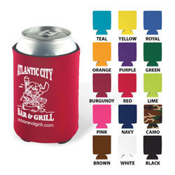 Custom koozies, personalized koozies, coosies from Texas Branders