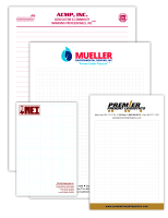 Note pads for advertising your business from Texas Branders, Houston, Texas.