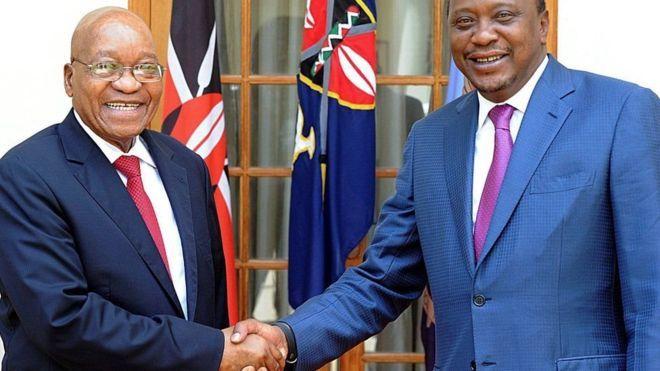 Koonfur Afrika oo ka baxaysa maxkamadda ICC