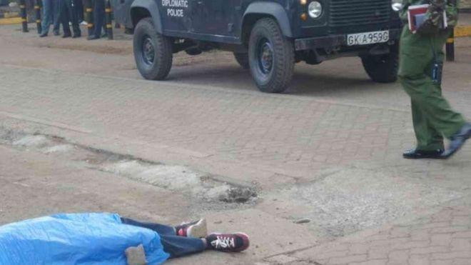 Toogasho ka dhacday dibedda Safaaradda Maraykanka ee Nairobi