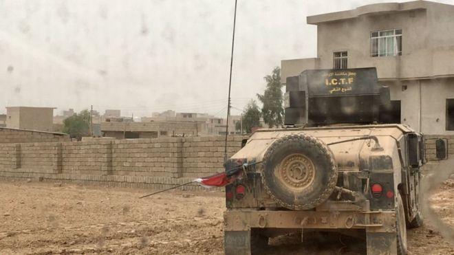 Ciidanka Ciraaq oo gaaray afaafka Mosul