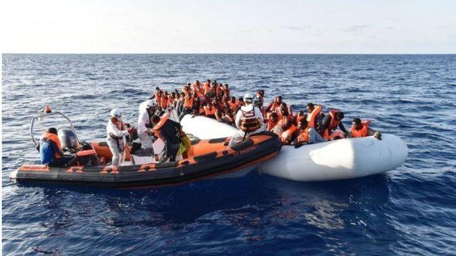 Boqolaal ku dhimatay xeebaha Liibiya