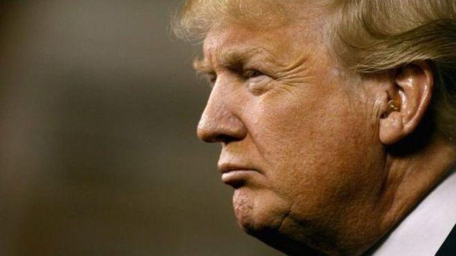 Trump oo ka hadlay dadka uu tarxiilayo