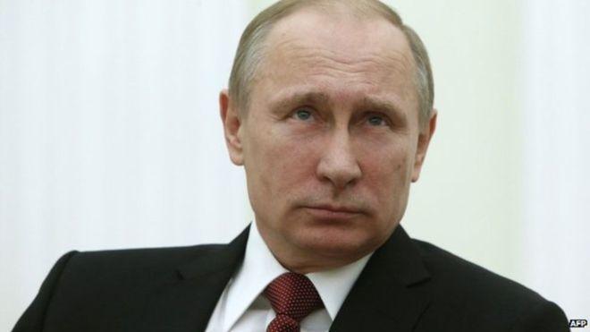 Putin oo saxiixay in dalkiisu ka baxo maxkamadda ICC