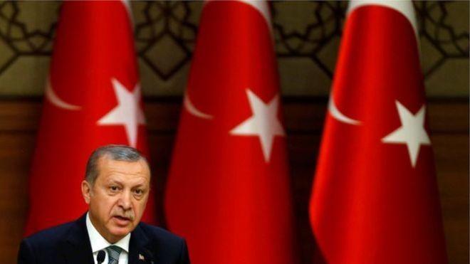 Erdogan: Waan ka weecan karnaa Midowga Yurub