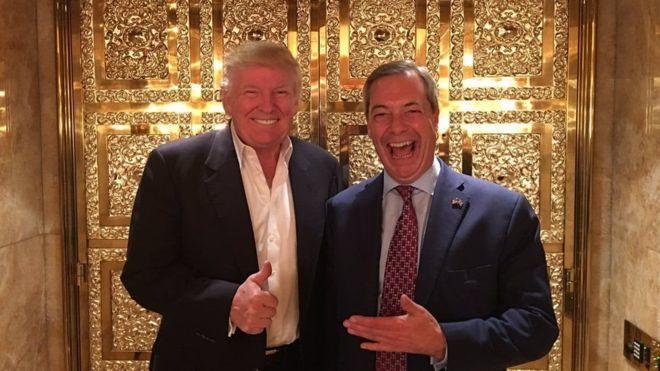 Britain oo ku gacansayrtay hadal ka soo yeeray Donald Trump