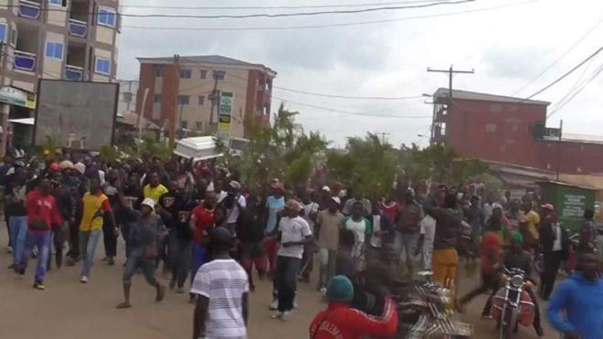 Mudaaharadyo luuqad la xiriira oo ka socda magalo Cameroon ku taalla
