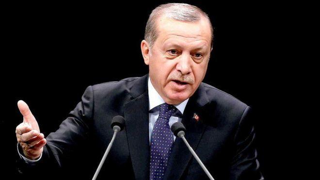 Erdogan oo u digay Midowga Yurub