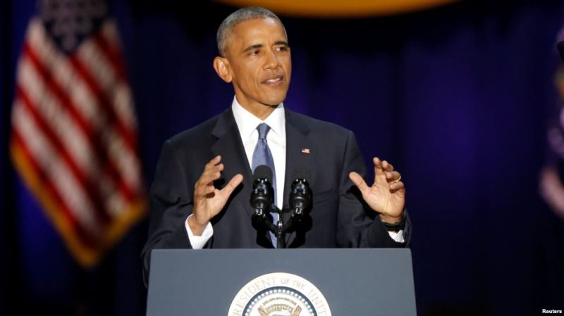 Khudbaddii ugu Dambeysay Obama iyo Fallanqeyn ku Saabsan