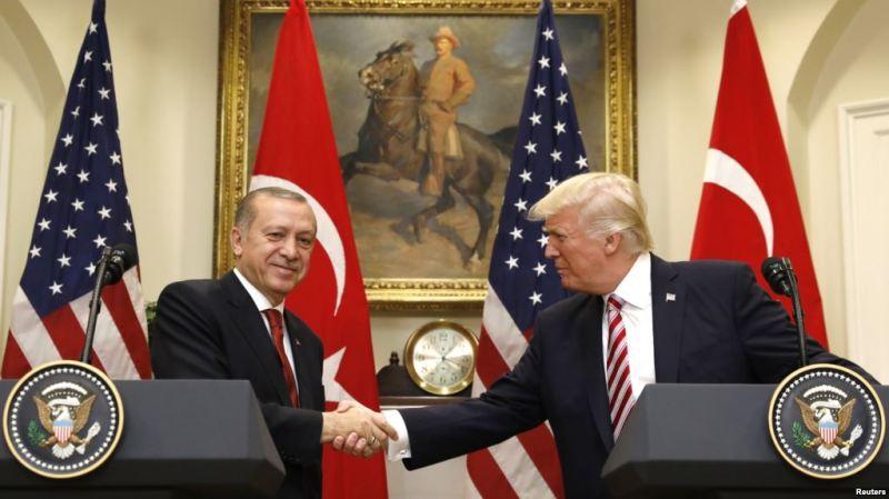 Trump iyo Erdogan oo Ammaanay Xiriirkooda