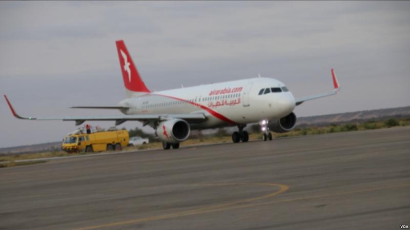 Air Arabia oo Duulimaad ka Billowday Hargeysa