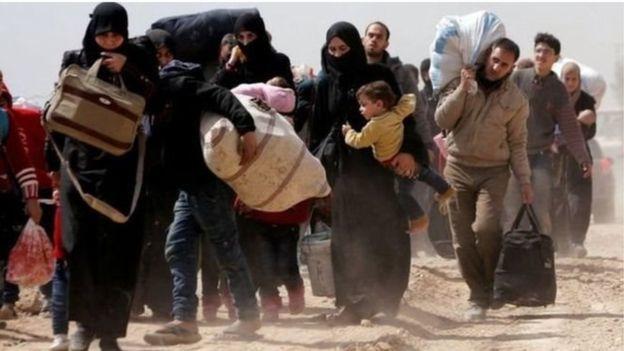 Fallaagada Suuriya oo laga daad gureeyay bariga Ghouta