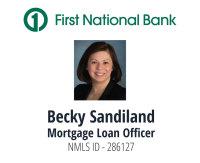 Becky Sandiland - First National Bank