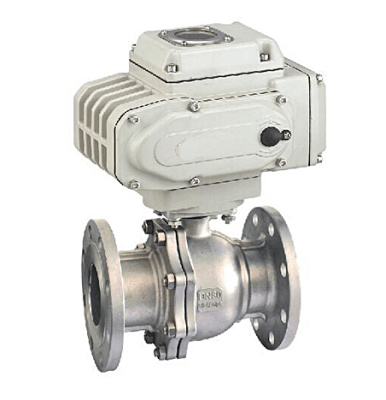 TL-430 electric 2 piece design ball valve