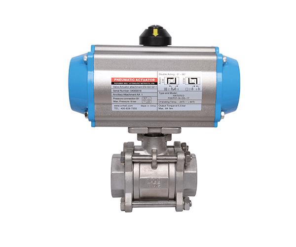TL-460 pneumatic ball valve