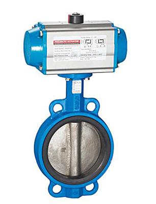 TL-550 pneumatic butterfly valve