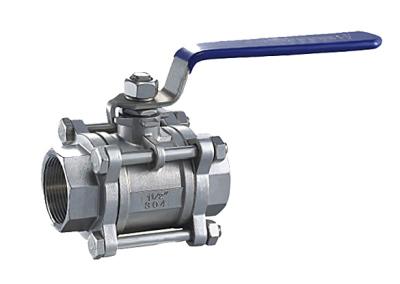 TL-450 3 piece ss ball valve