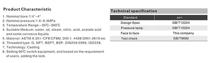 TL-450 1 piece ss ball valve information