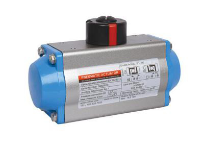 Pneumatic control valve works