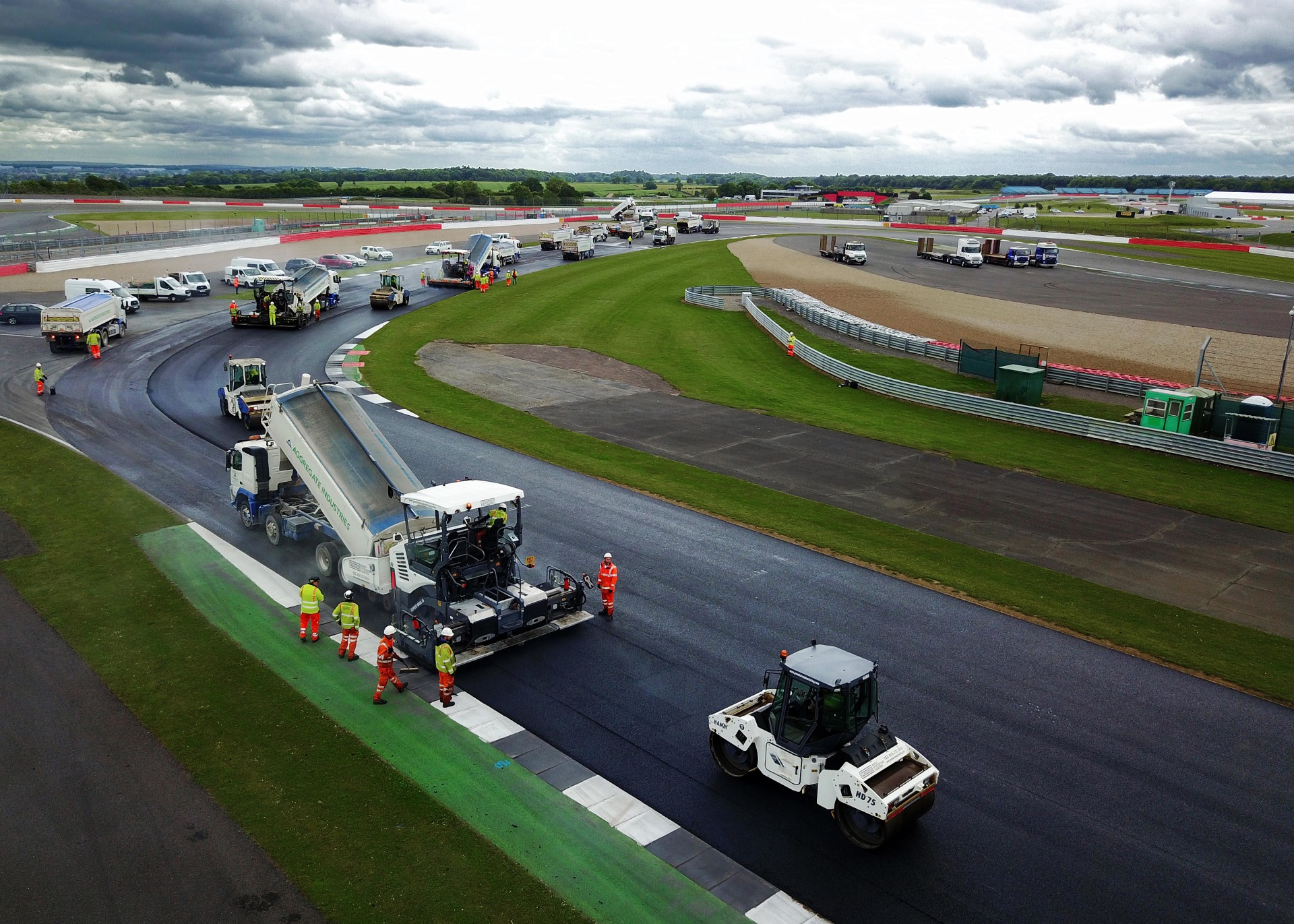 Aggregate Industries Silverstone