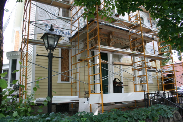 Before:  Historic Restoration