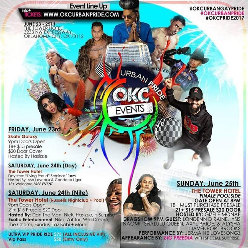 OKC Urban Pride Celebrates LGBTQ Communities of Color