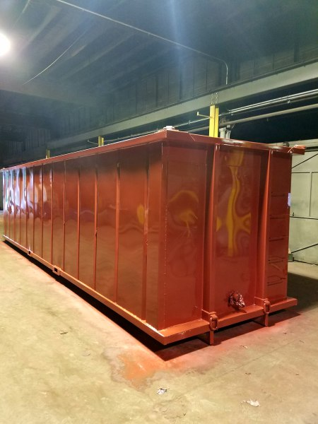 Double wall container,monaco mfg