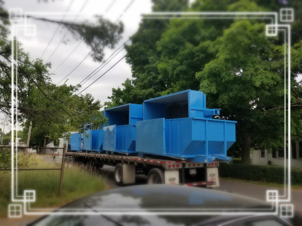 Double wall container,monaco mfg,