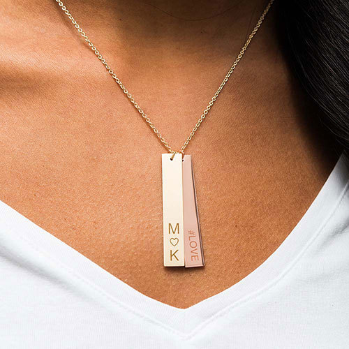Personalized Tag Pendant