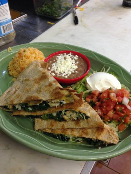 Blue Crab Quesadilla
