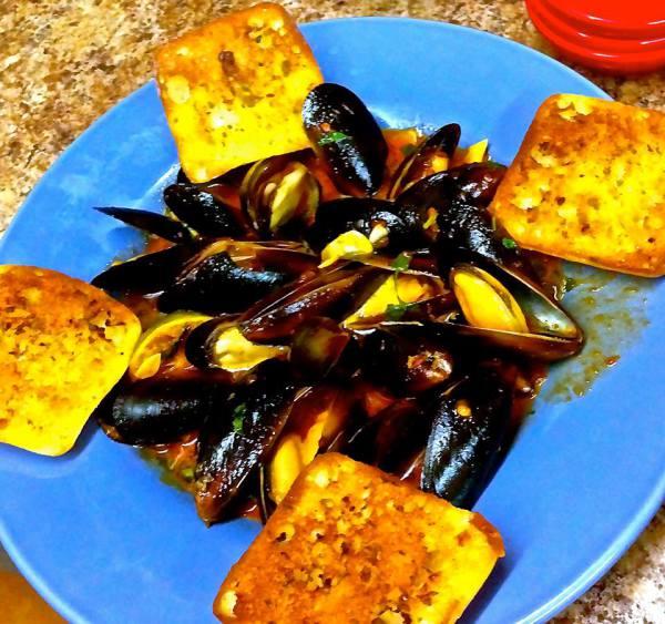 Mussels Oaxaca