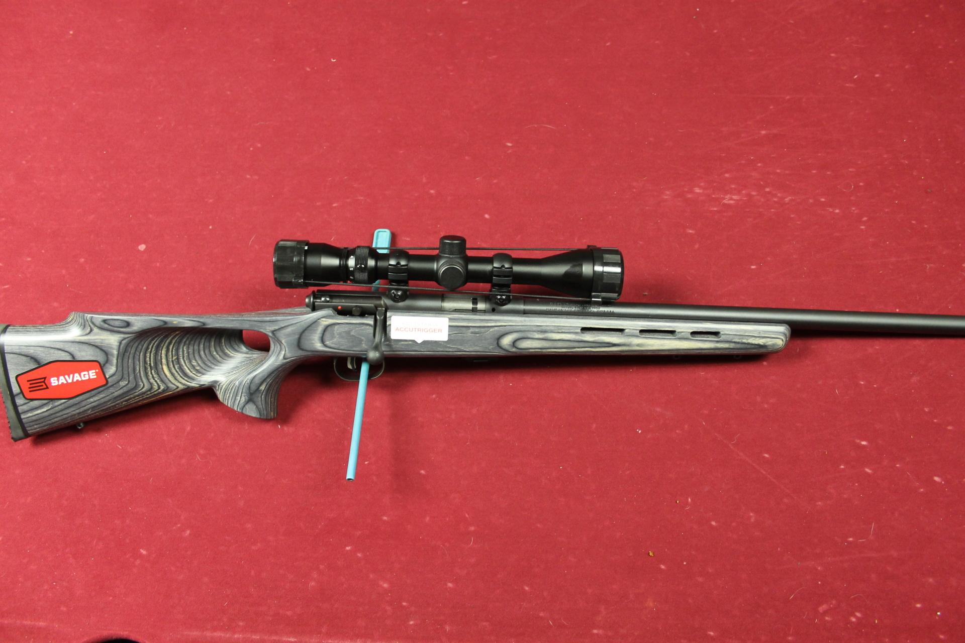 SAVAGE ARMS MARK II BTVXP 22 LR W 3-9X32 SCOPE $325.00