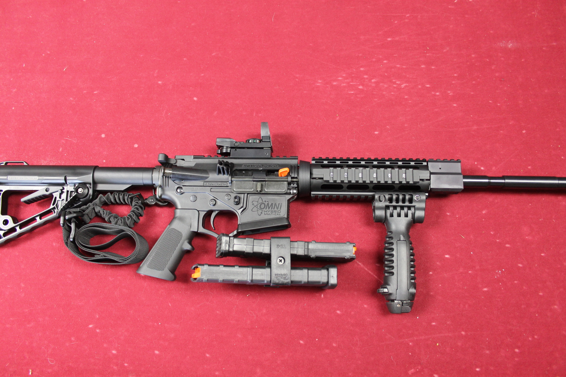 ATI TACTICAL AR 15 w accessories    Only $489.00