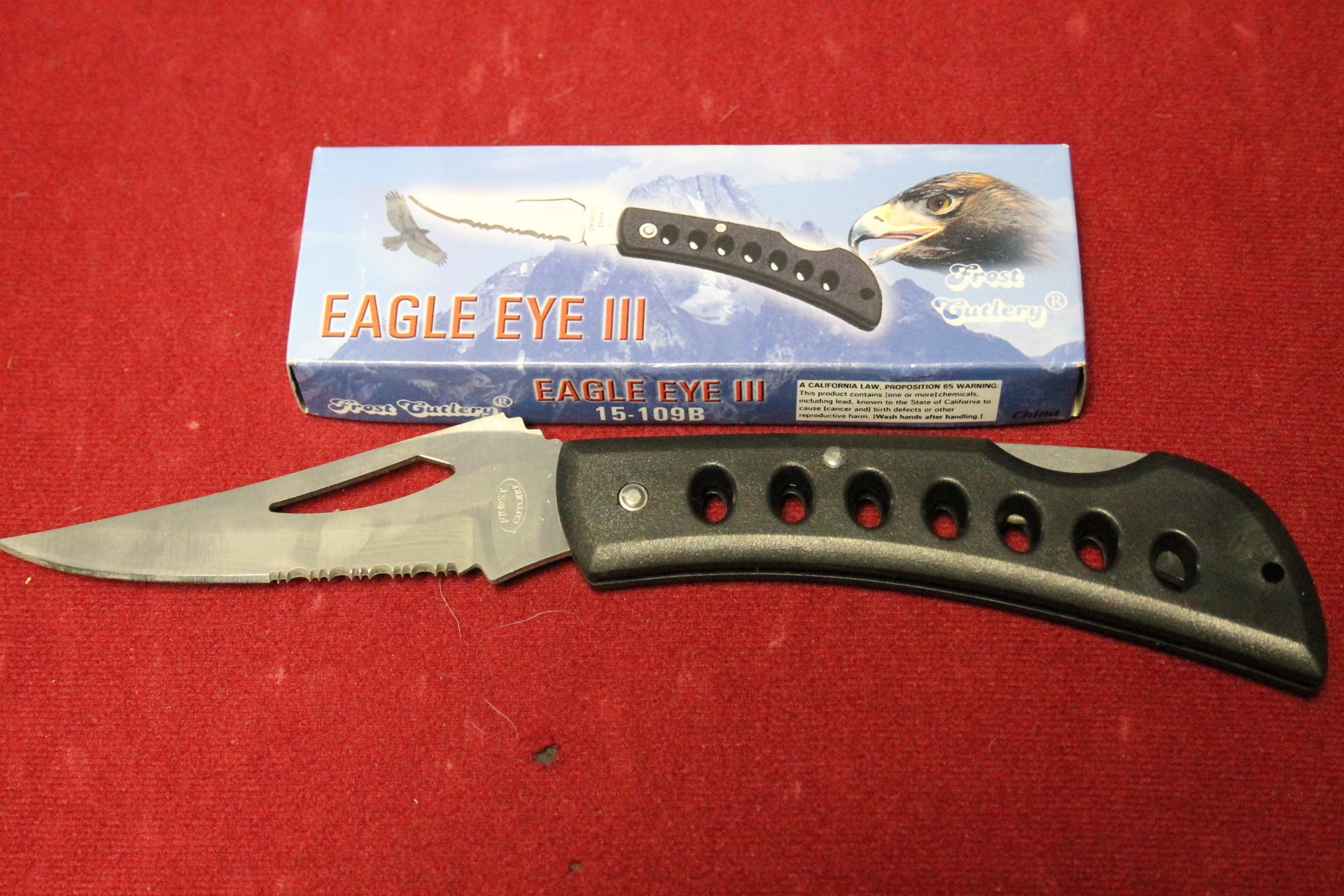 """5"""" Eagle Eye III  $5.00"""