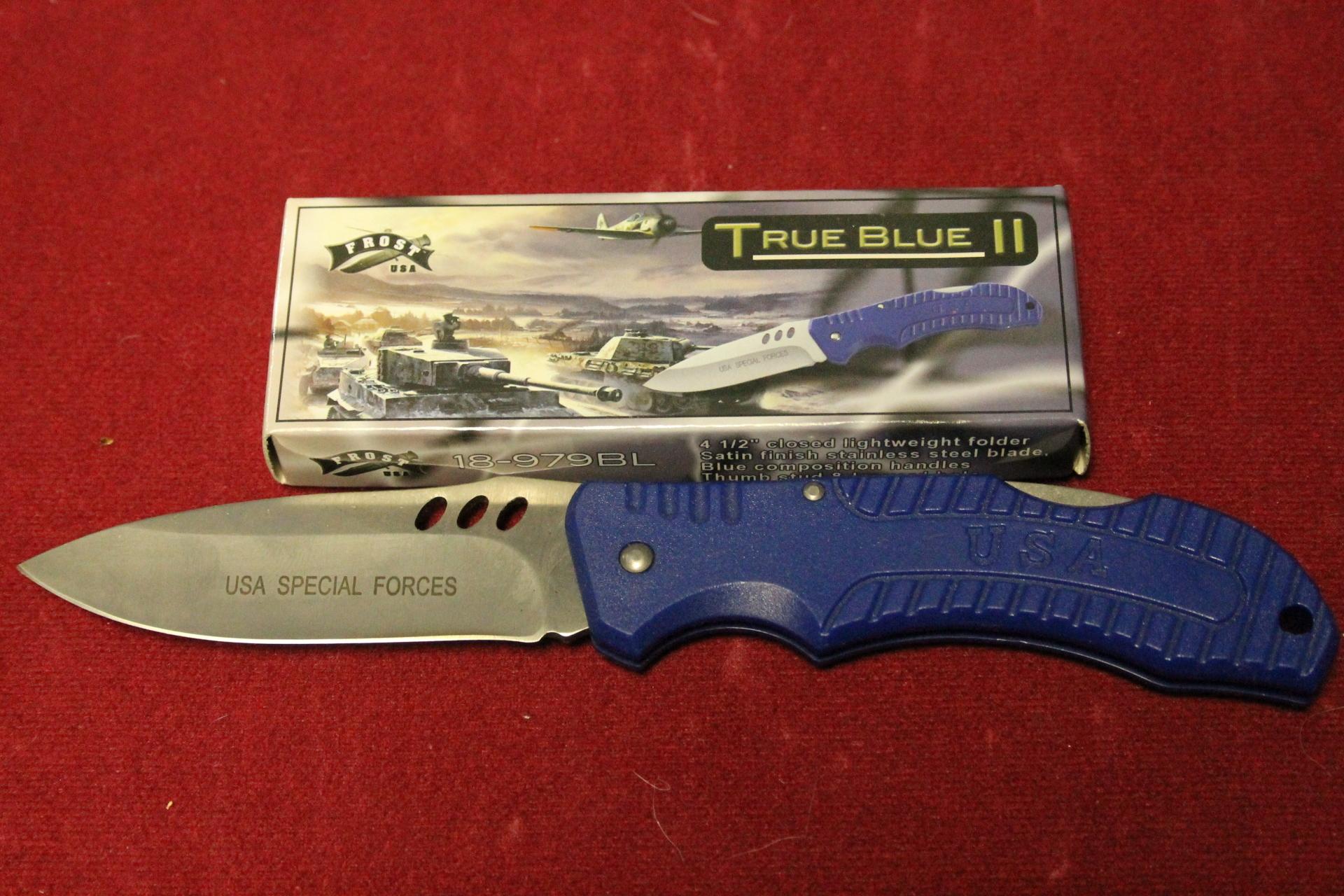 "4.5"" True Blue  $5.00"